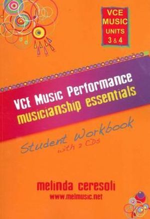 Cover of VCE Music Performance Musicianship Essentials - Unit 3 & 4