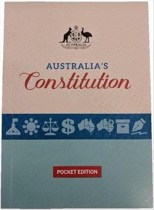 Cover of Australia's Constitution