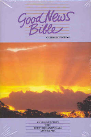 Cover of Good News Bible - Catholic Edition