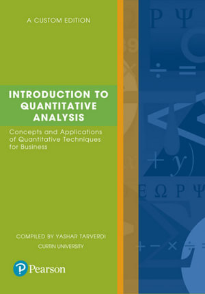 Cover of Introduction to Quantitative Analysis (Custom Edition)