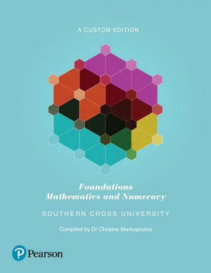 Cover of Foundations: Mathematics and Numeracy (Custom Edition)