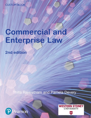 Cover of Commercial and Enterprise Law (Custom Edition)