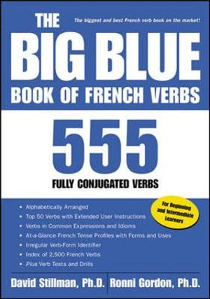 Cover of The Big Blue Book of French Verbs