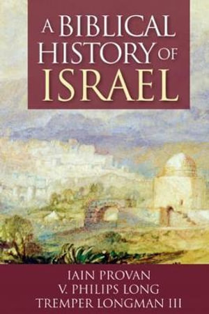 Cover of A Biblical History of Israel