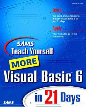 Cover of More Visual Basic 6 in 21 Days: Teach Yourself