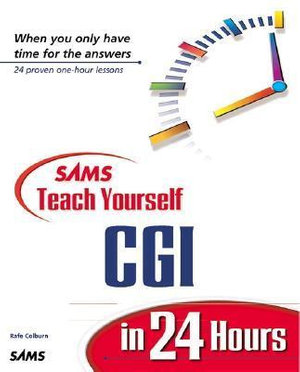 Cover of Sams Teach Yourself CGI in 24 Hours