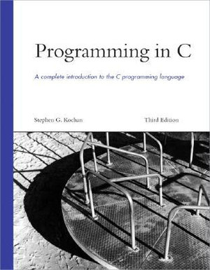 Cover of Programming in C
