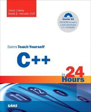 Cover of Sams Teach Yourself C++ in 24 Hours