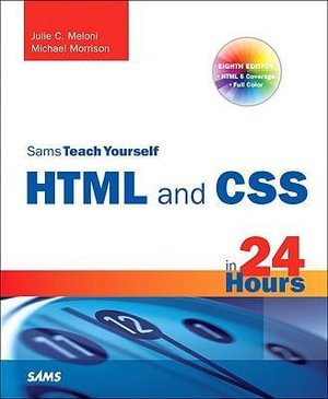 Cover of HTML and CSS in 24 Hours