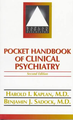 Cover of Pocket Handbook of Clinical Psychiatry
