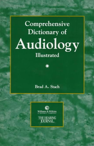 Cover of Comprehensive Dictionary of Audiology Illustrated