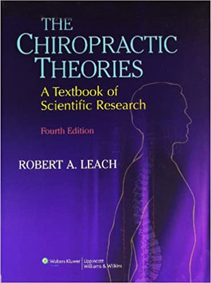 Cover of The Chiropractic Theories