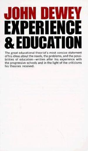 Cover of Experience and Education