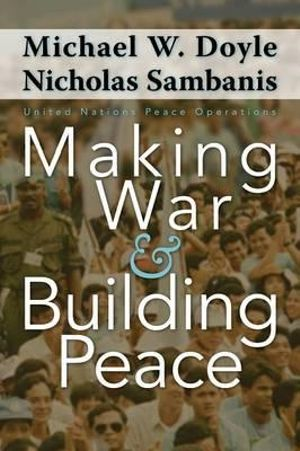 Cover of Making War and Building Peace