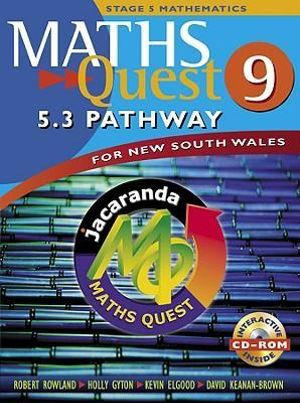 Cover of Maths Quest 9 for New South Wales
