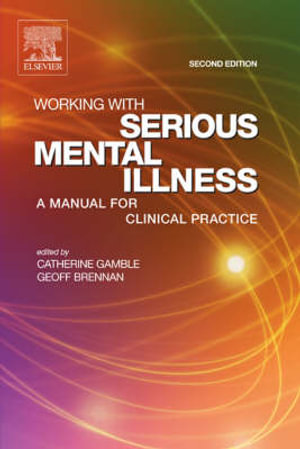 Cover of Working with Serious Mental Illness