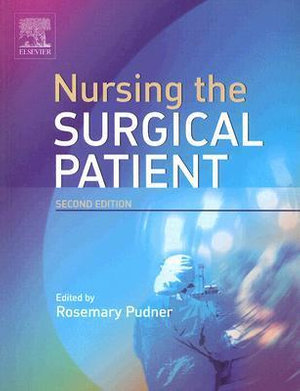 Cover of Nursing the Surgical Patient
