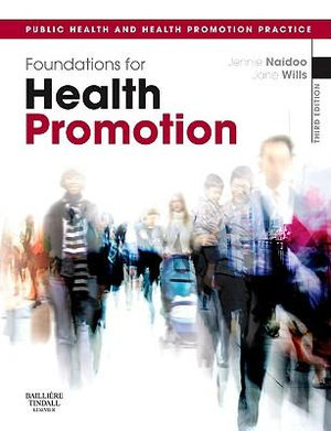 Cover of Foundations of Health Promotion, Third Edition