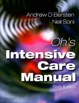 Cover of Oh's Intensive Care Manual