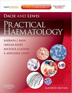 Cover of Dacie and Lewis Practical Haematology