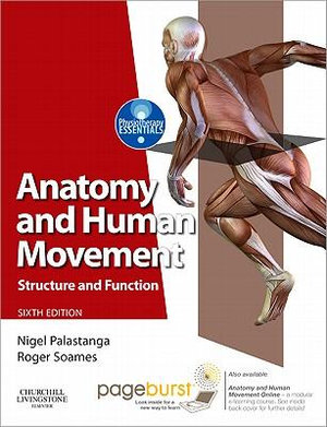 Cover of Anatomy and Human Movement,Structure and function with PAGEBURST Access,6