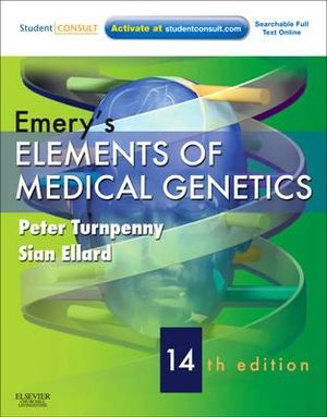 Cover of Emery's Elements of Medical Genetics