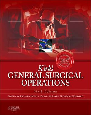Cover of Kirk's General Surgical Operations