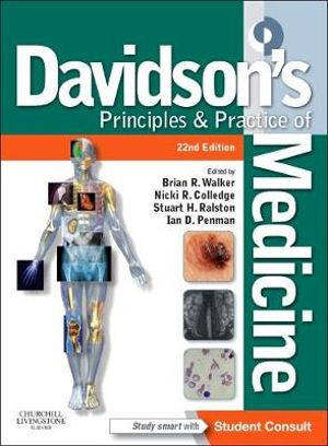 Cover of Davidson's Principles and Practice of Medicine
