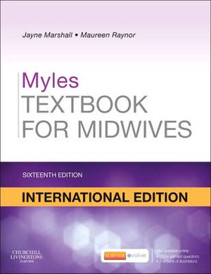 Cover of Myles Textbook for Midwives