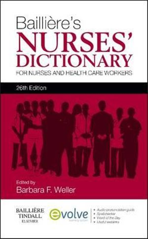 Cover of Bailliere's Nurses' Dictionary