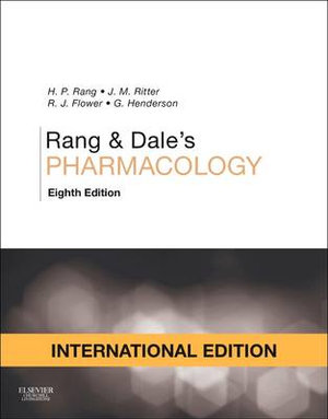 Cover of Rang and Dale's Pharmacology