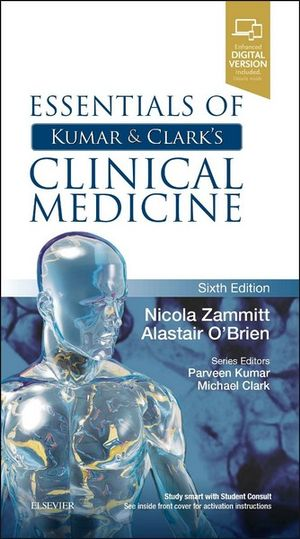 Cover of Essentials of Kumar and Clark's Clinical Medicine