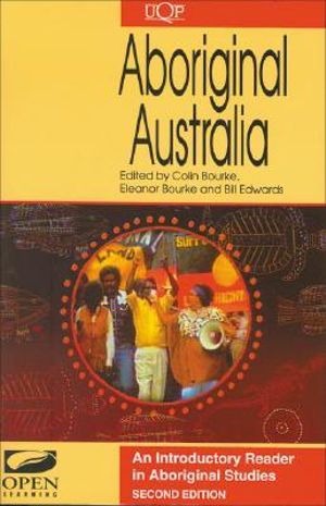 Cover of Aboriginal Australia: an Introductory Reader in Australian Aboriginal Sttudies