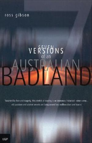 Cover of Seven Versions of an Australian Badland