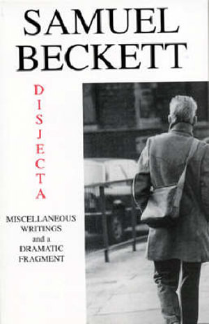 Cover of Disjecta