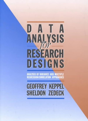 Cover of Data Analysis for Research Designs