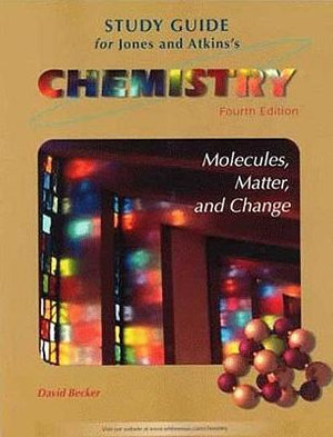 Cover of Chemistry: Molecules Matter and Change Study Guide