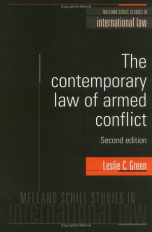 Cover of The Contemporary Law of Armed Conflict