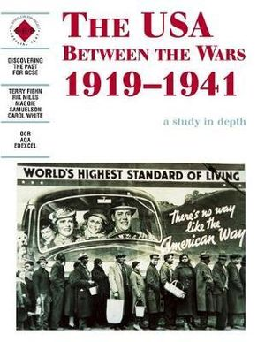 Cover of The USA Between the Wars 1919-1941