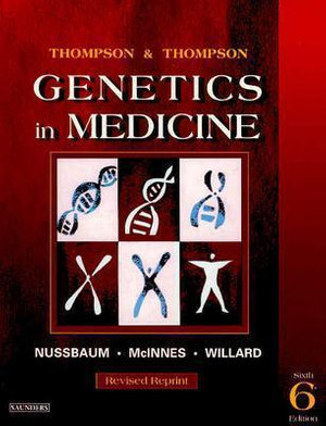 Cover of Thompson and Thompson Genetics in Medicine