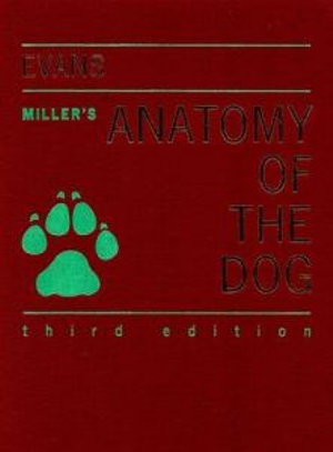 Cover of Miller's Anatomy of the Dog