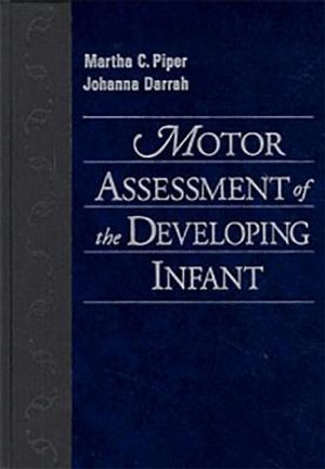 Cover of Motor Assessment of the Developing Infant