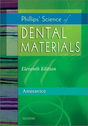 Cover of Phillips' Science of Dental Materials