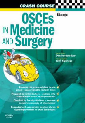 Cover of OSCEs in Medicine and Surgery