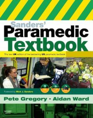 Cover of Sanders' Paramedic Textbook