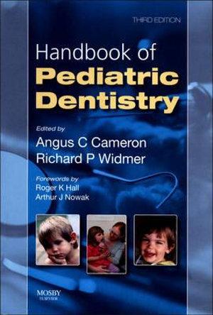 Cover of Handbook of Pediatric Dentistry