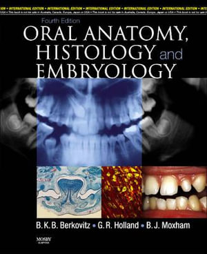 Cover of Oral Anatomy, Histology and Embryology