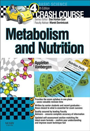Cover of Crash Course: Metabolism and Nutrition4