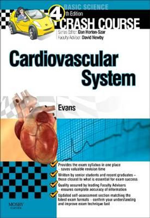 Cover of Crash Course Cardiovascular System4
