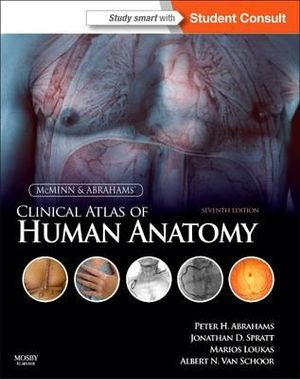 Cover of McMinn's Clinical Atlas of Human Anatomy 7e